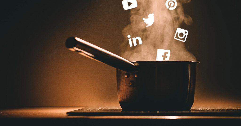 Sosiaalisen median keitto