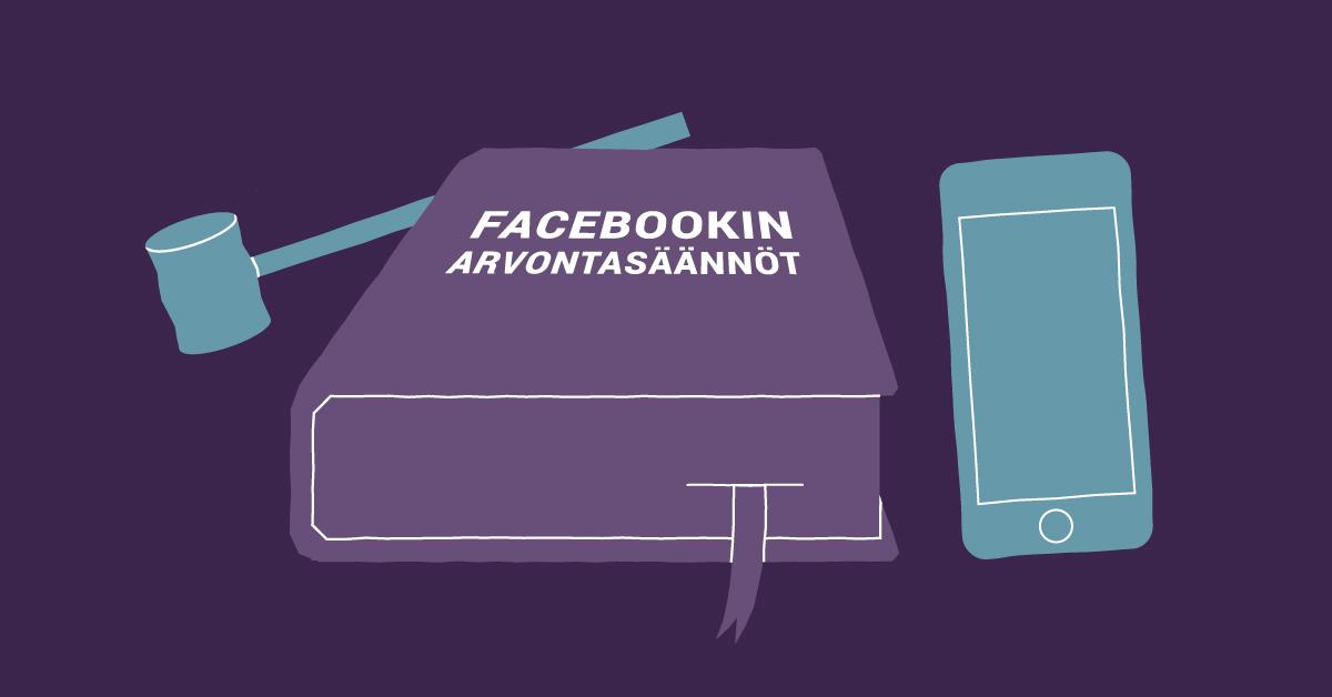 Facebook arvontasäännöt