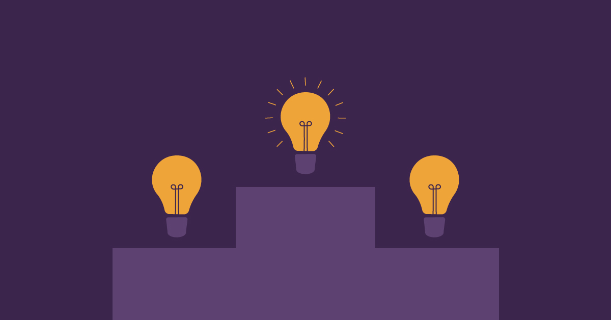 Ideoiden valinta -blogikirjoituksen artikkelikuva.