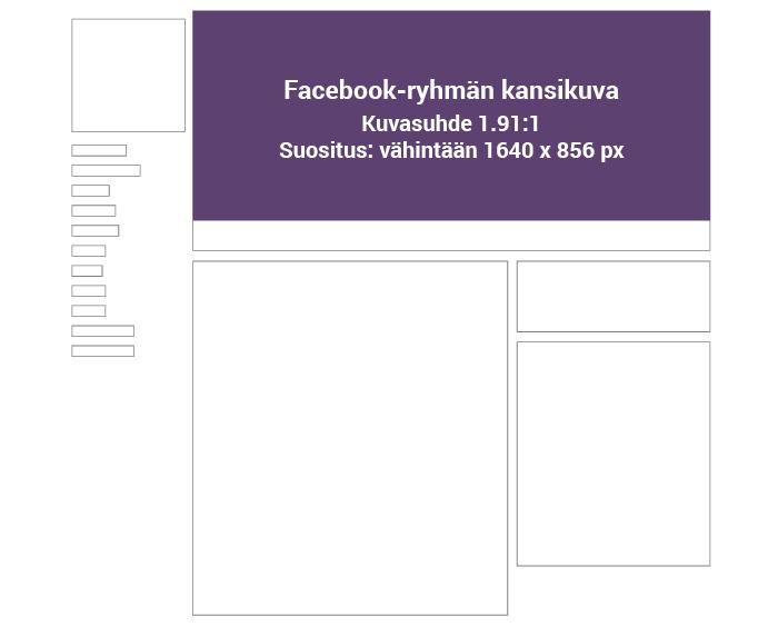 Facebook-tapahtuman kansikuvan koko 2020